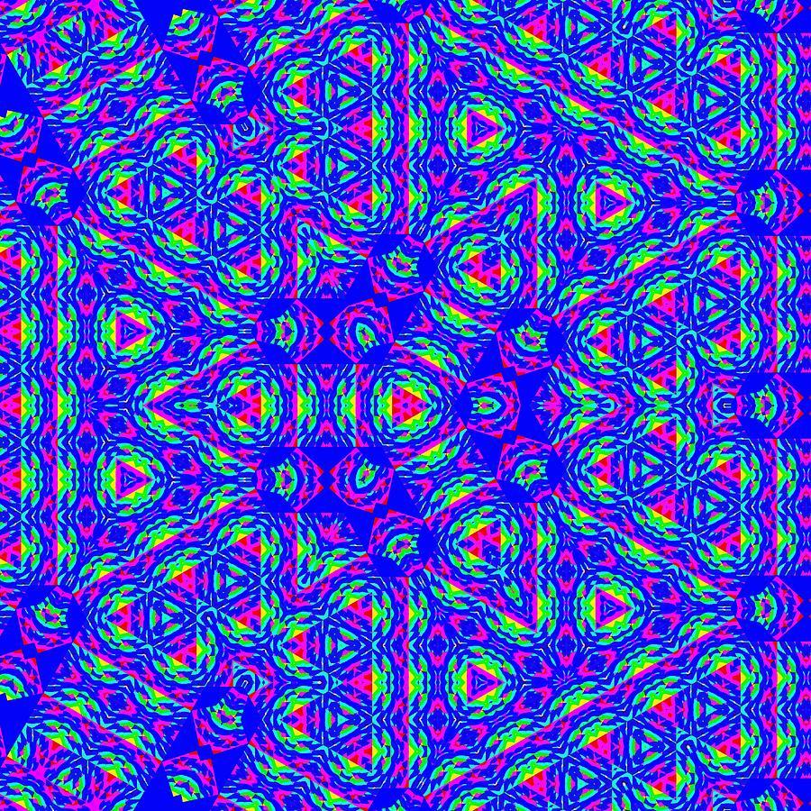 New Kaleidoscope Design  by Wilma Barnwell