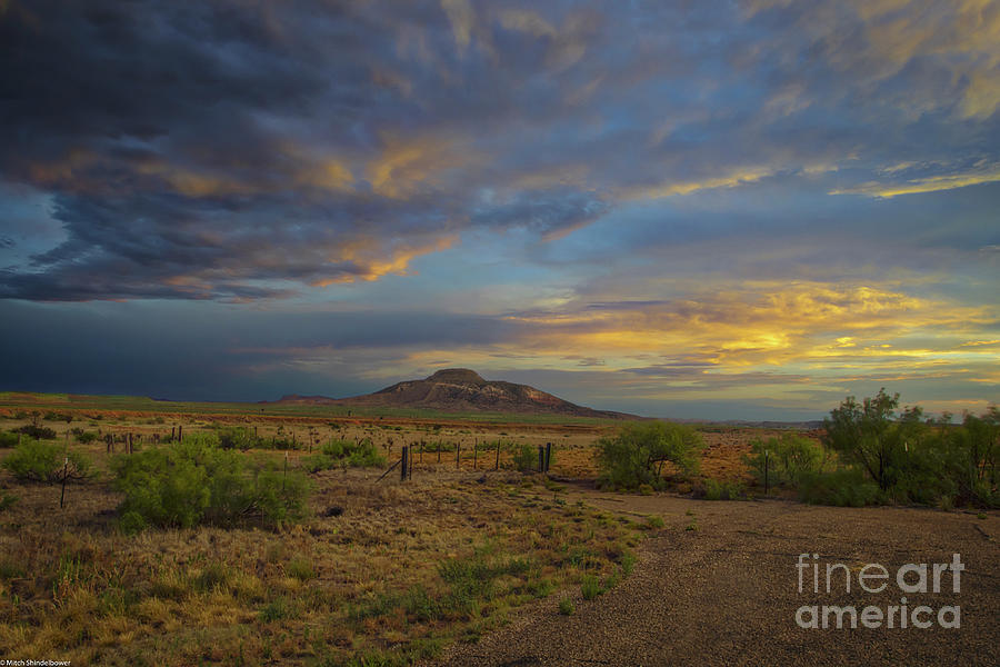 New Mexico Sunset Photograph