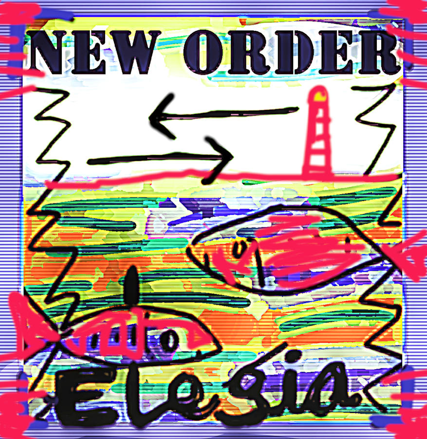 New Order Elegia 1985  by Enki Art