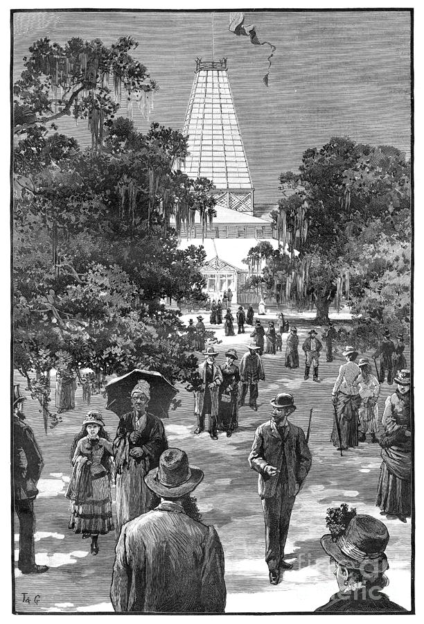 NEW ORLEANS FAIR, 1885 by Thulstrup and Graham