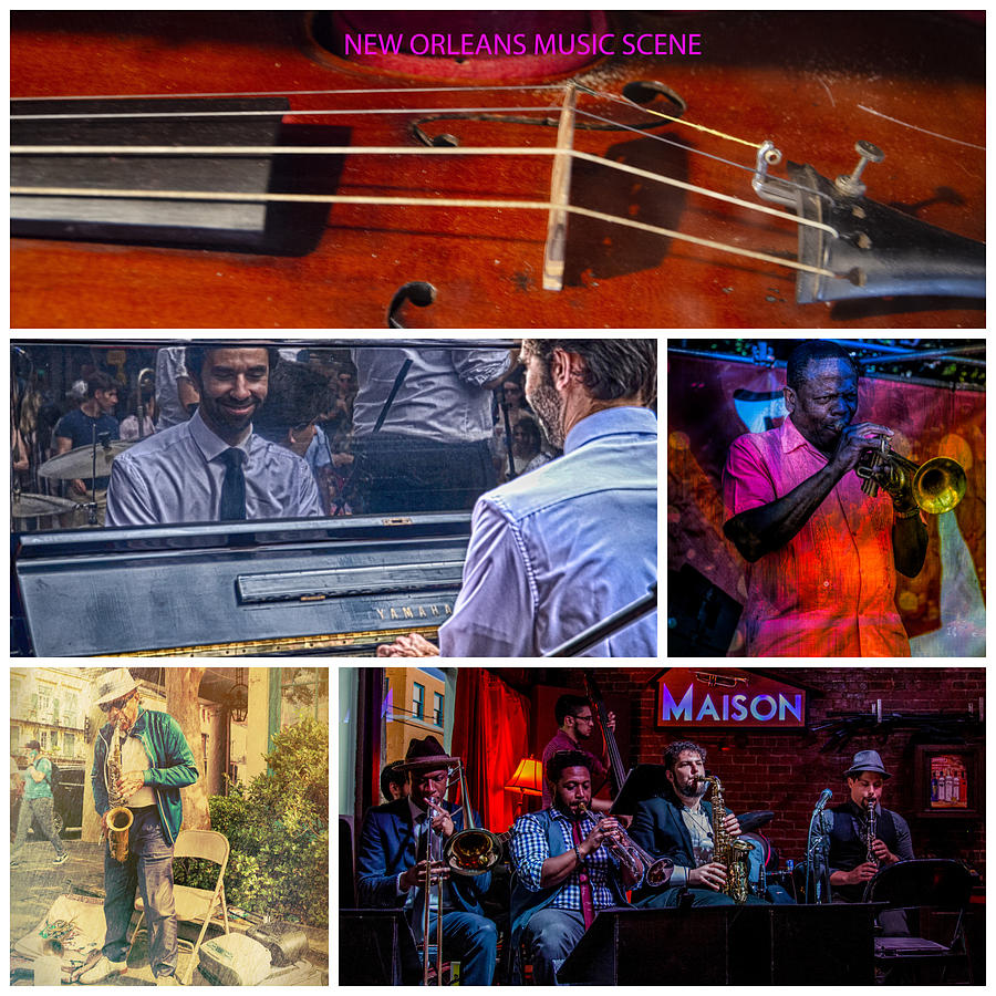 Music Photograph - New Orleans Music Scene by Jim Cook