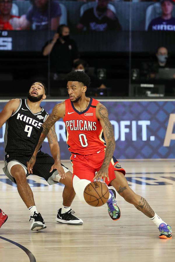 New Orleans Pelicans v Sacramento Kings Photograph by Joe Murphy