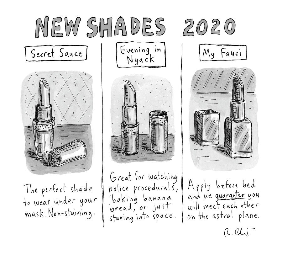 New Shades 2020 Drawing by Roz Chast