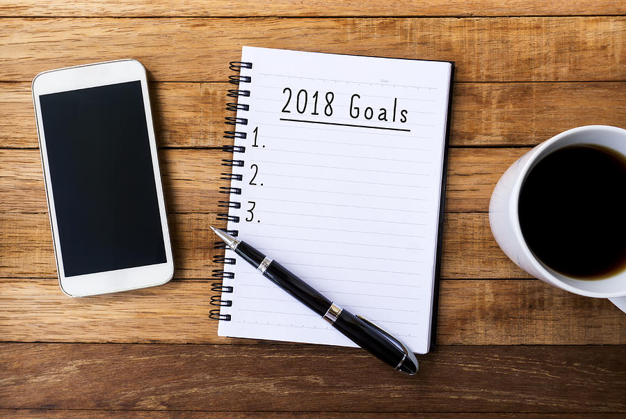 New Year 2018 Goals Photograph by Nora Carol Photography