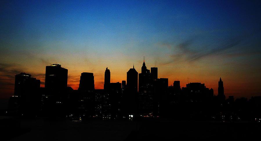 New York Blackout 2003 Photograph by Robert Giroux