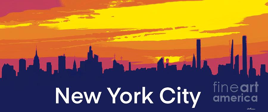 New York Painting - New York City 2020 by Jack Bunds