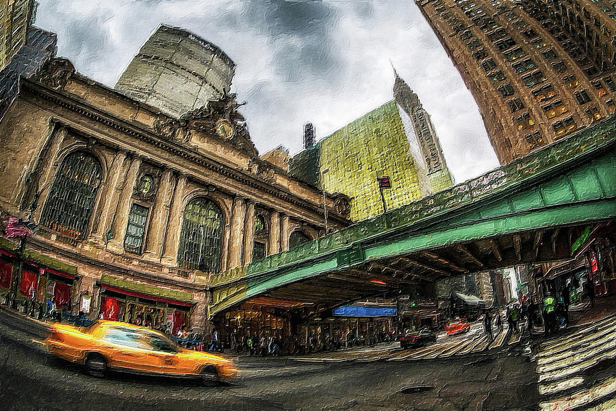 New York City Grand Central Station Painting