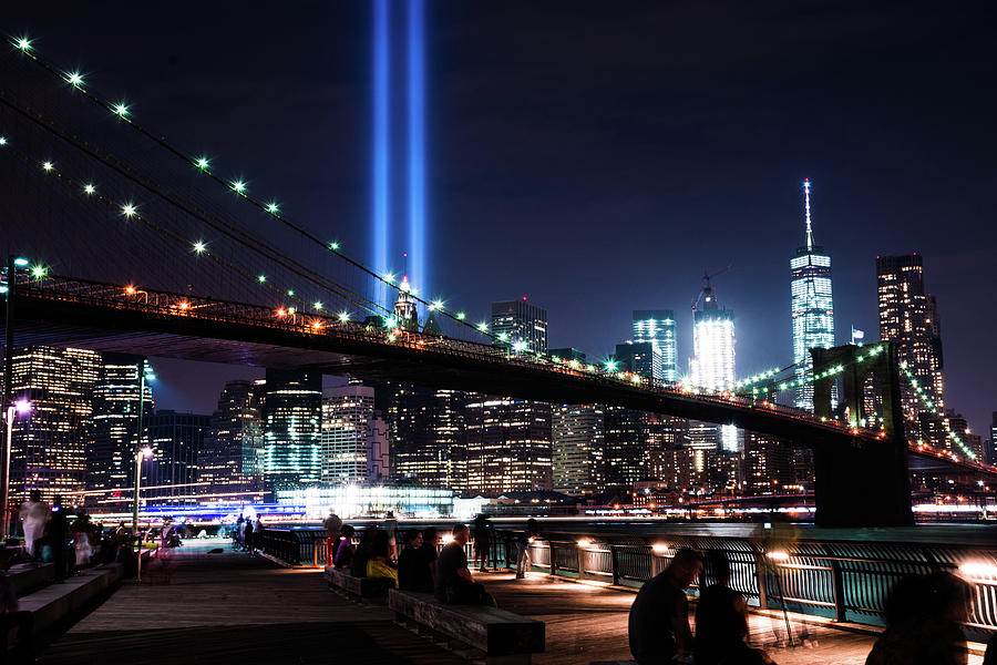 New York Photograph - New York City Lights by Seascaping Photography