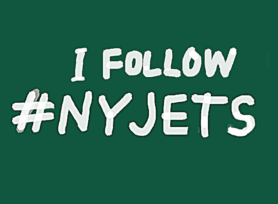 New York Jets fan art  by Enki Art