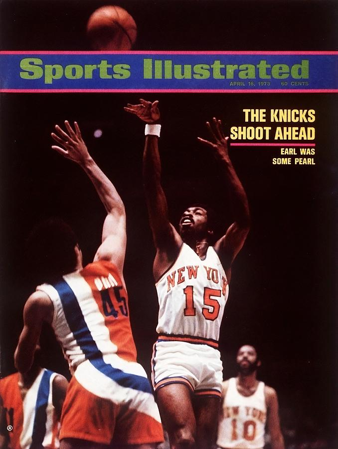 New York Knicks Earl Monroe, 1973 Nba Eastern Conference Sports Illustrated Cover Photograph by Sports Illustrated