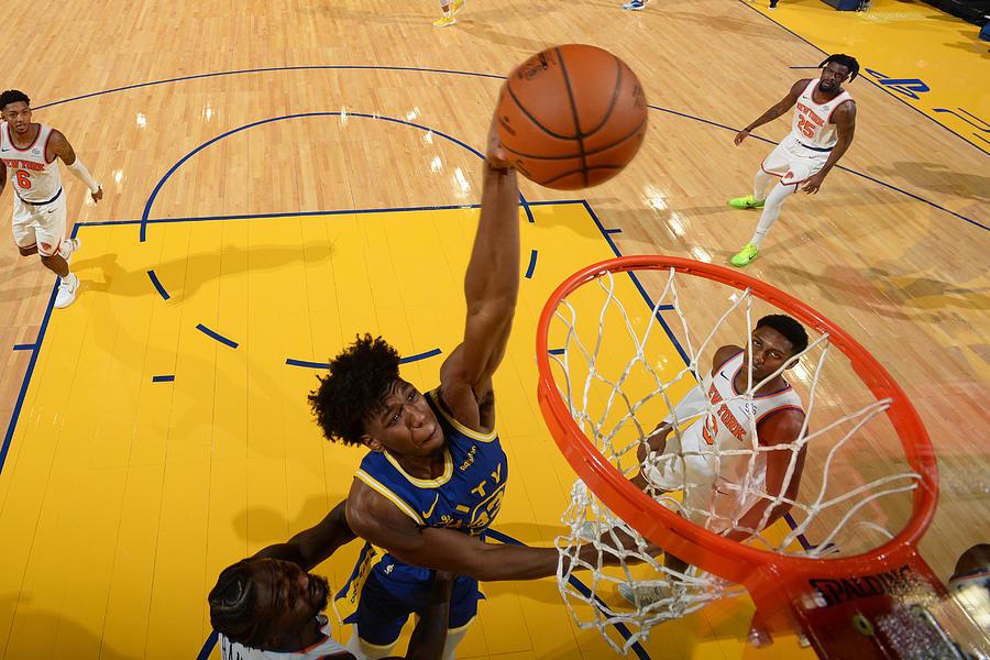 New York Knicks v Golden State Warriors Photograph by Noah Graham