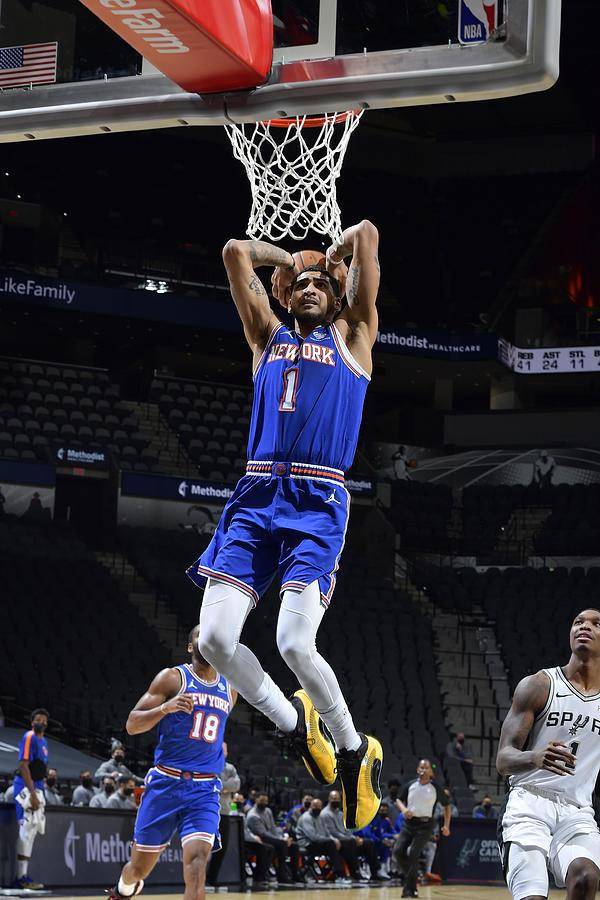 New York Knicks v San Antonio Spurs Photograph by Logan Riely
