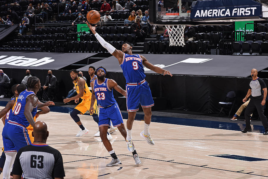 New York Knicks v Utah Jazz Photograph by Garrett Ellwood