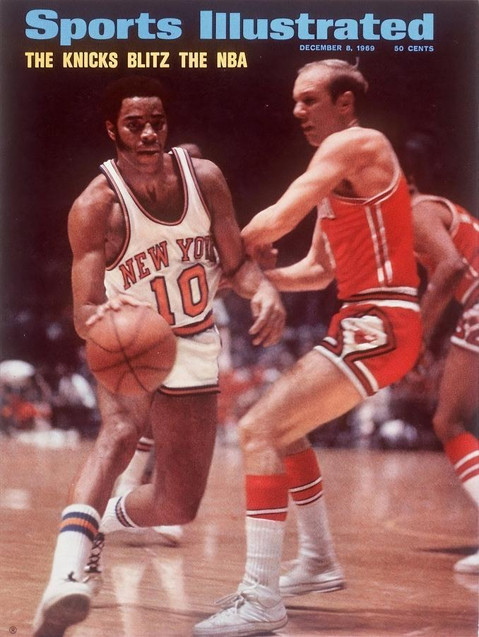 New York Knicks Walt Frazier... Sports Illustrated Cover Photograph by Sports Illustrated