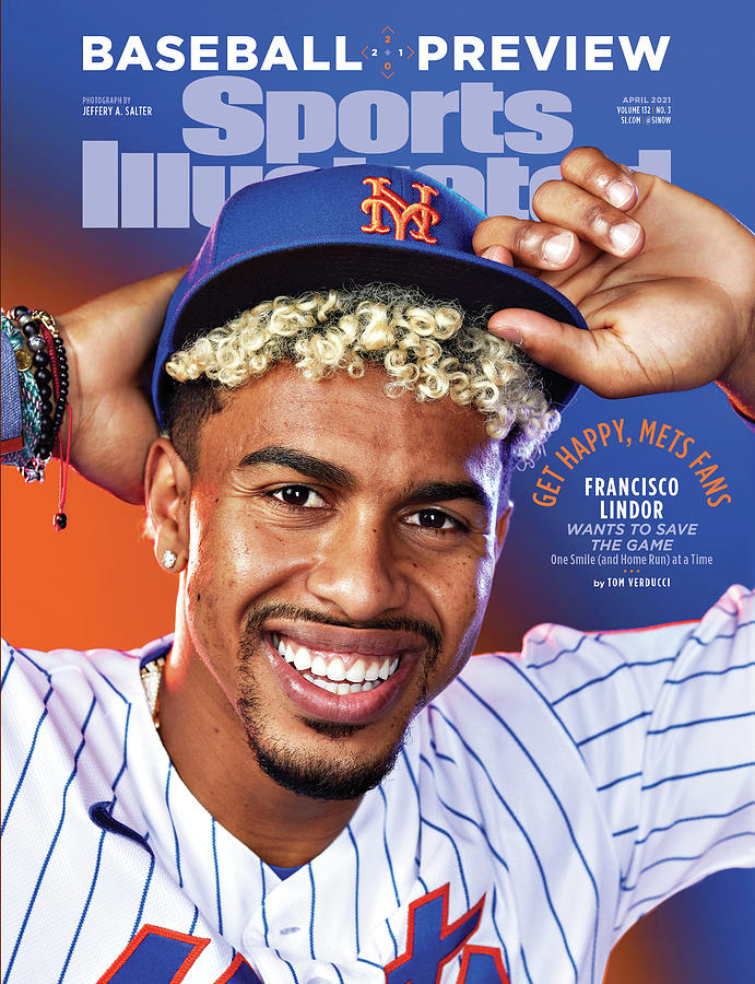 New York Mets Francisco Lindor, 2021 Baseball Preview Photograph by Sports Illustrated
