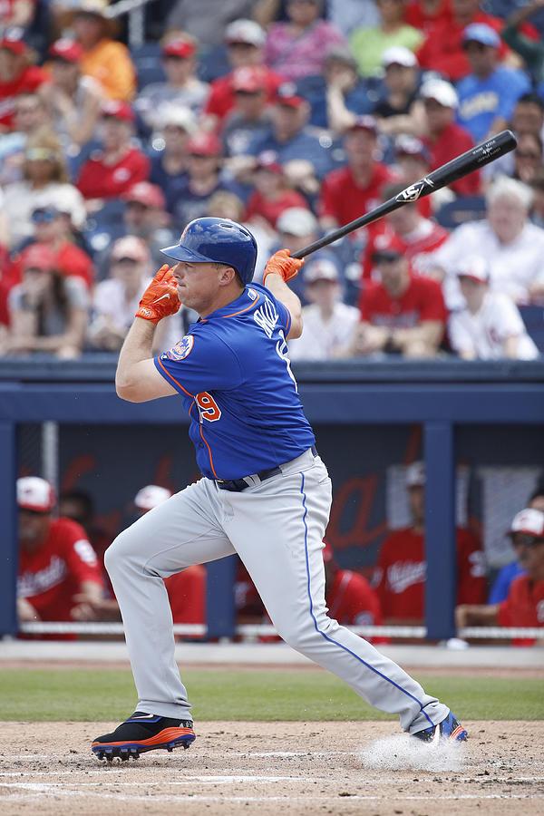 New York Mets v Washington Nationals Photograph by Joe Robbins
