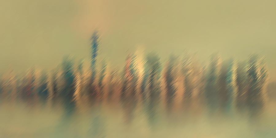 New York Mist by David Manlove
