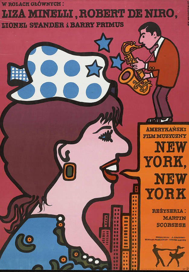 new York, New York, 1977 Mixed Media