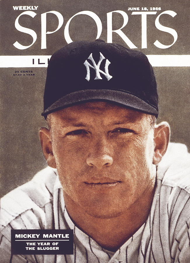New York Yankees Mickey Mantle Sports Illustrated Cover Photograph by Sports Illustrated