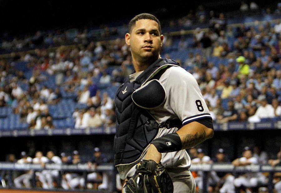 New York Yankees v Tampa Bay Rays Photograph by Joseph Garnett Jr.