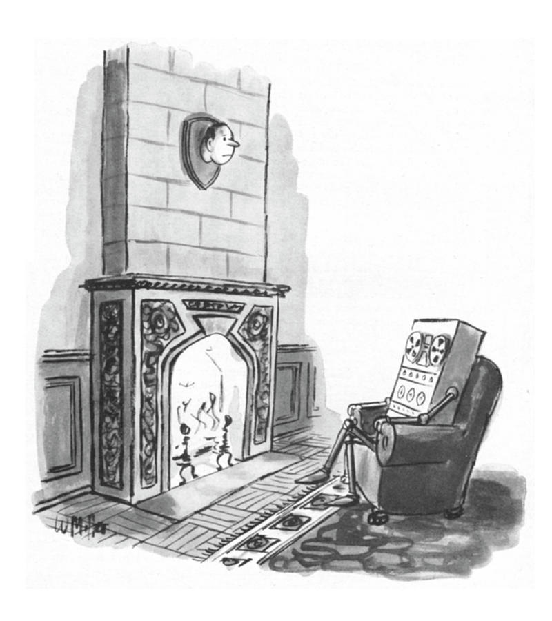 New Yorker April 1,1974 Drawing by Warren Miller