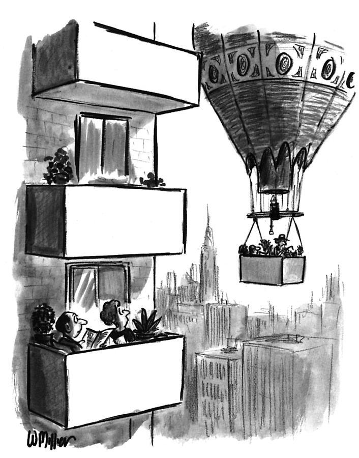 New Yorker August 23, 1993 Drawing by Warren Miller