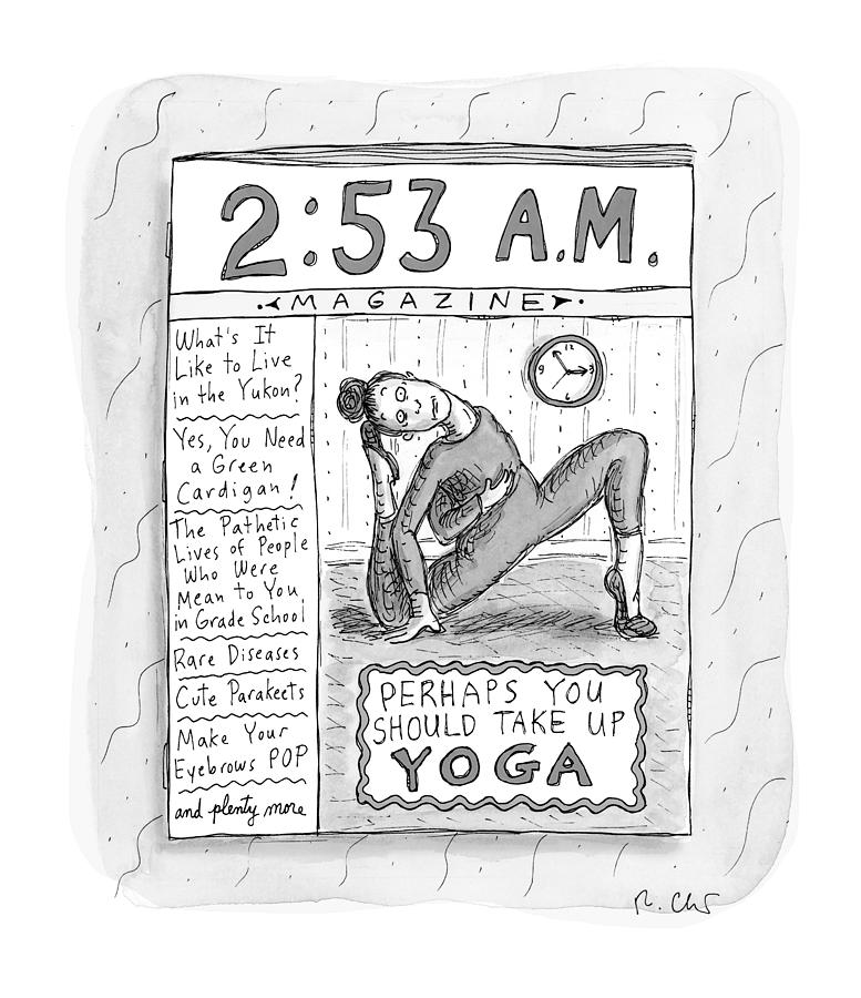 New Yorker August 23, 2021 Drawing by Roz Chast