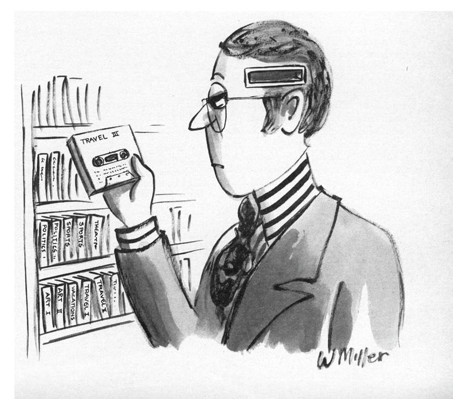 New Yorker December 10, 1973 Drawing by Warren Miller