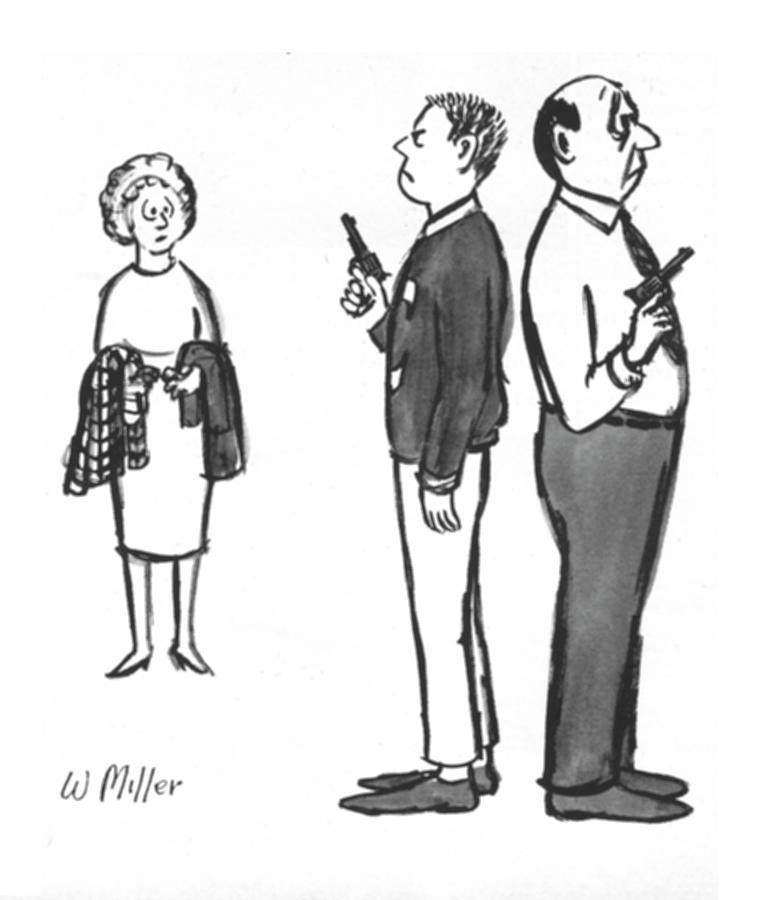New Yorker December 5, 1964 Drawing by Warren Miller