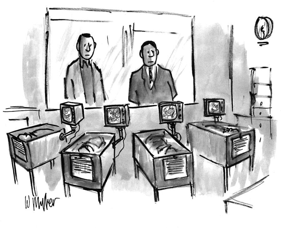 New Yorker February 21, 1994 Drawing by Warren Miller