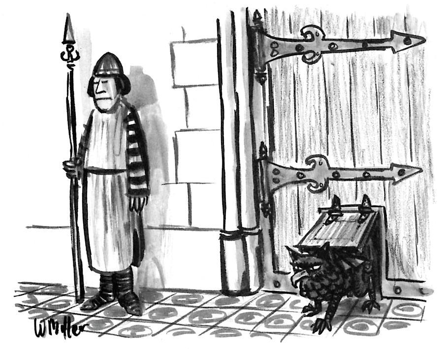 New Yorker February 28, 1994 Drawing by Warren Miller