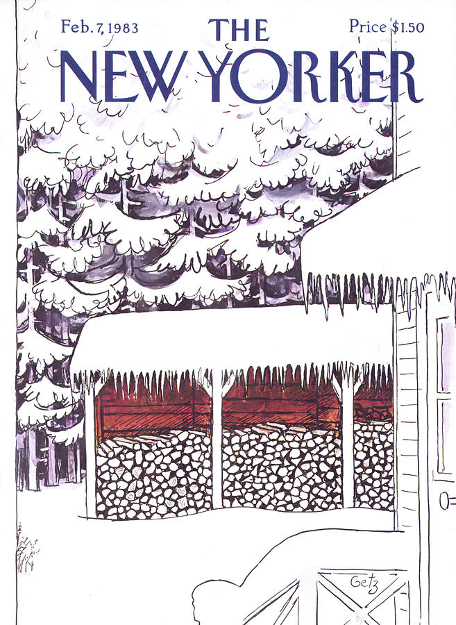 New Yorker February 7, 1983 Painting by Arthur Getz