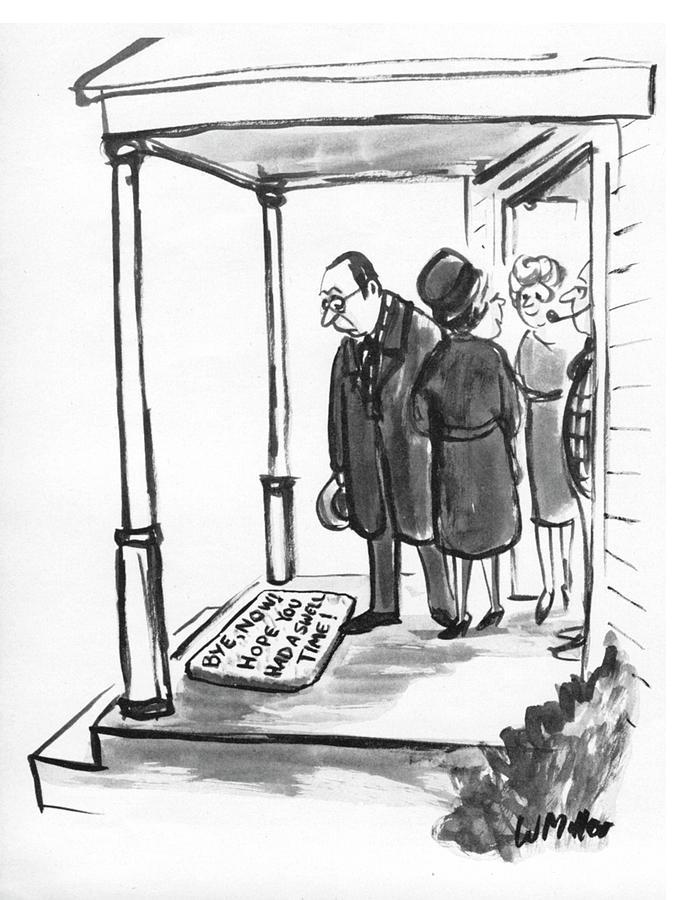 New Yorker January 7, 1974 Drawing by Warren Miller