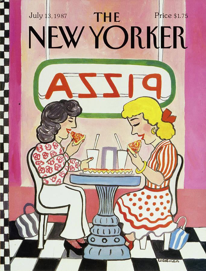 New Yorker July 13, 1987 Painting by Barbara Westman