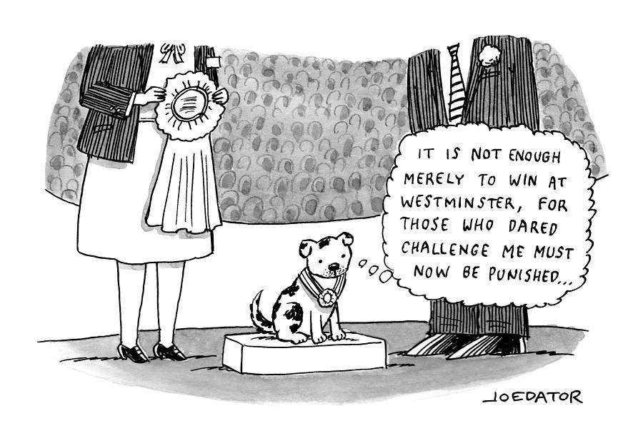 New Yorker June 14, 2021 Drawing by Joe Dator