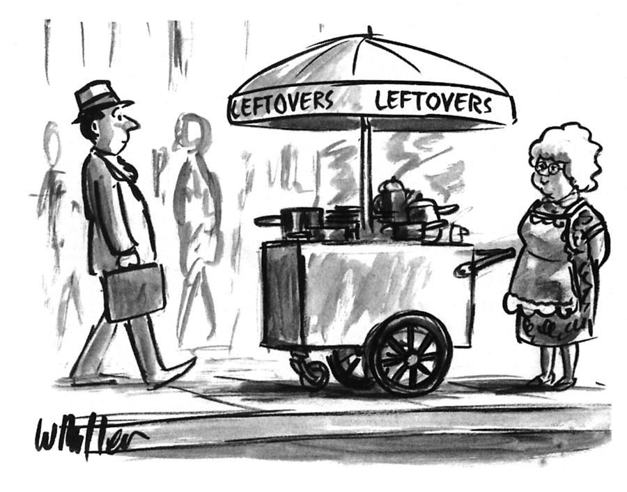 New Yorker October 17, 1994 Drawing by Warren Miller