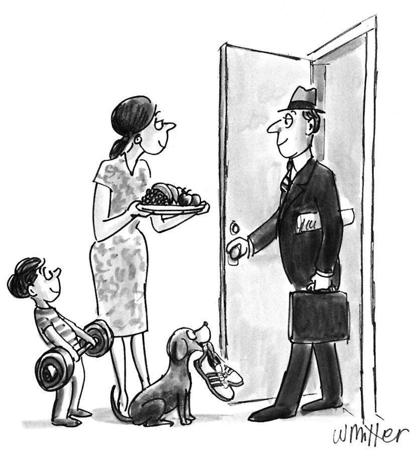 New Yorker September 27, 1993 Drawing by Warren Miller