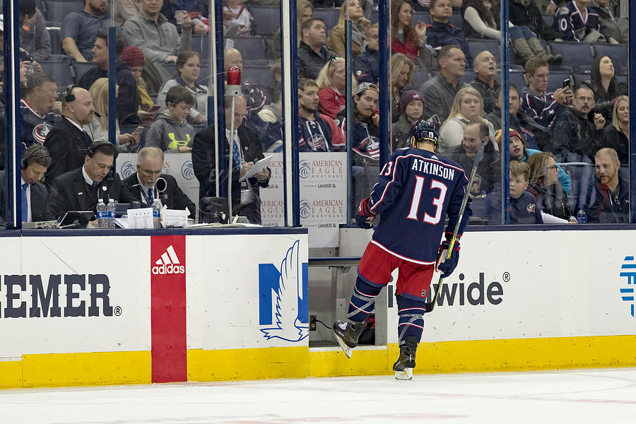 NHL: DEC 01 Ducks at Blue Jackets Photograph by Icon Sportswire