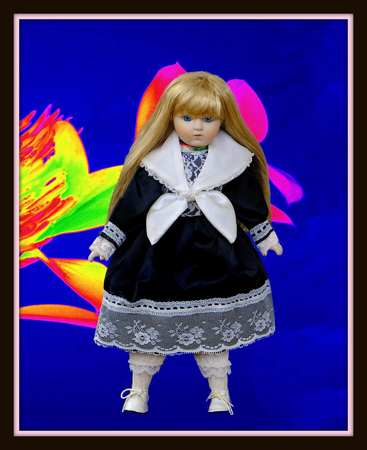 Nice Mixed Media - Nice Doll Photo by Constance Lowery