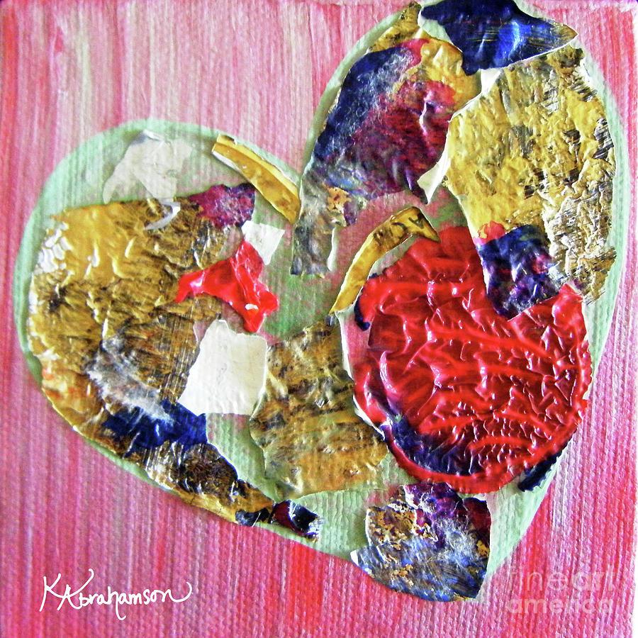Nice France Heart by Kristen Abrahamson