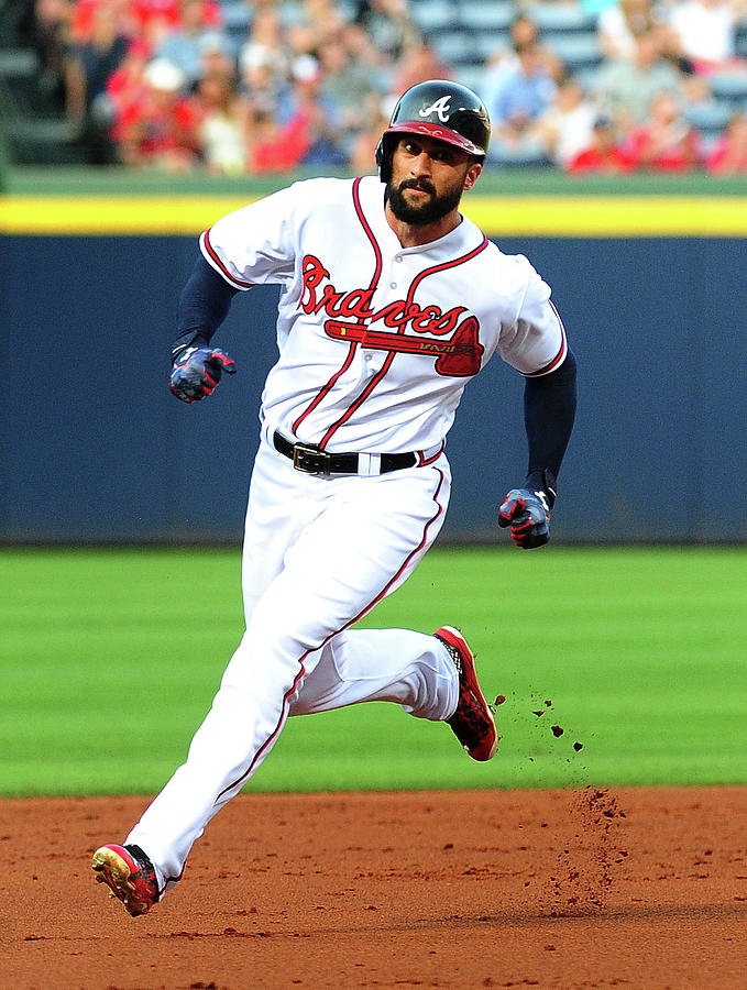 Nick Markakis Photograph by Scott Cunningham