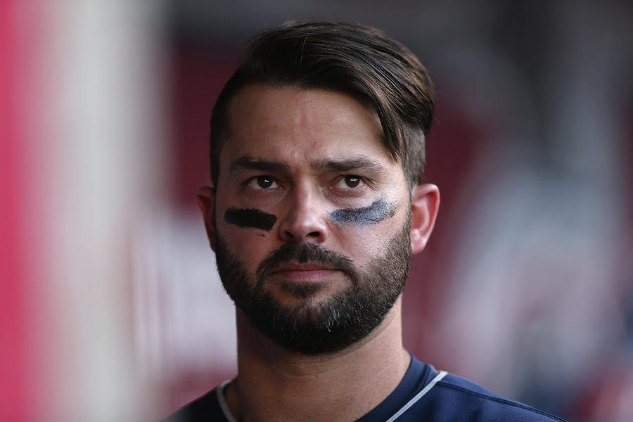 Nick Swisher Photograph by Jeff Gross