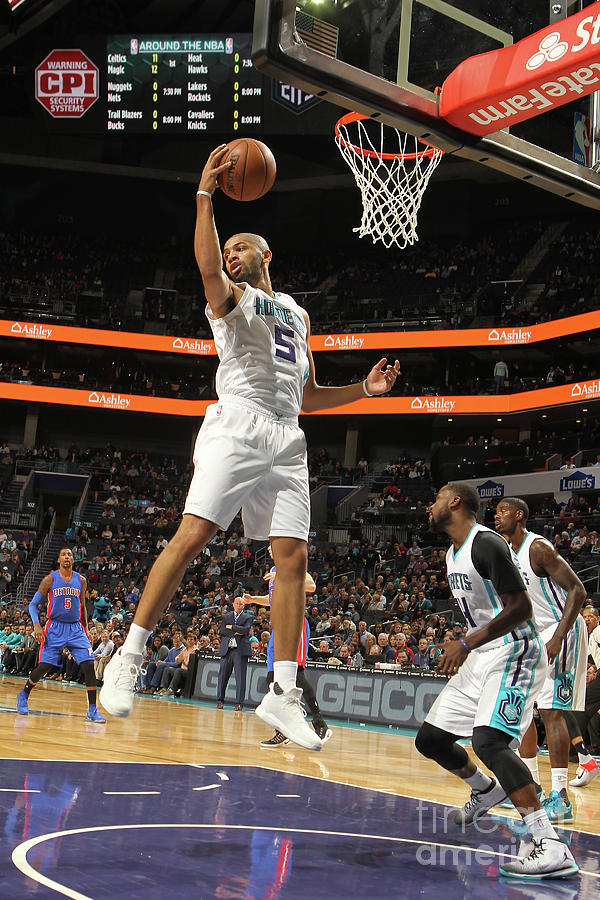 Nicolas Batum Photograph by Brock Williams-smith