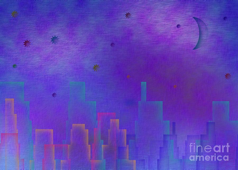 Night City Digital Art