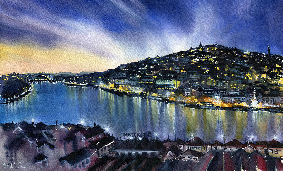 Night Lights of Porto by Dora Hathazi Mendes