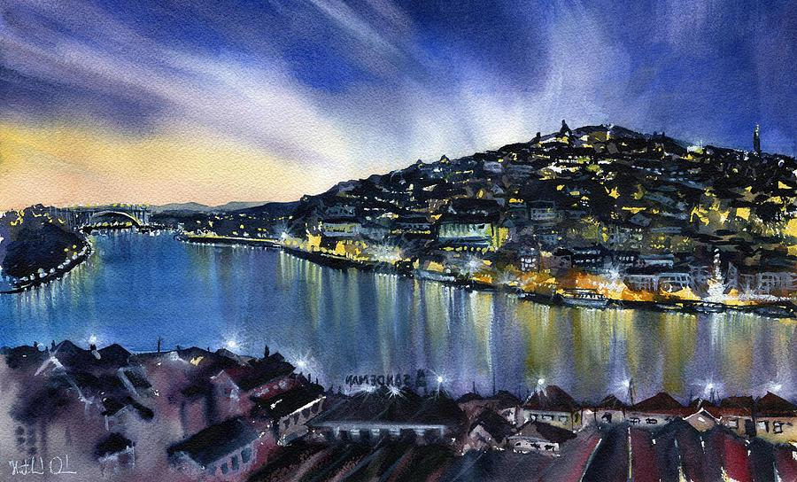 Night Lights of Porto by Dora Hathazi Mendes