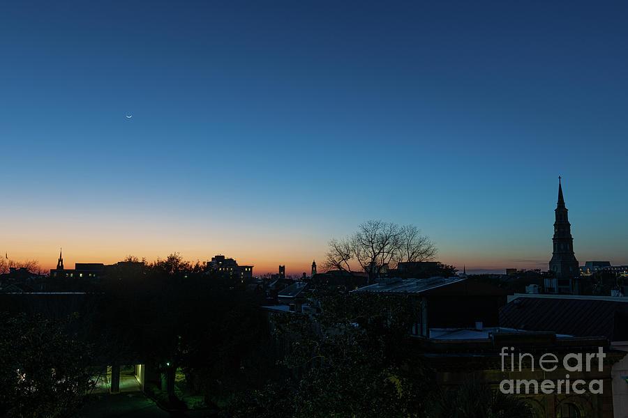Night Sky - Charleston South Carolina Photograph