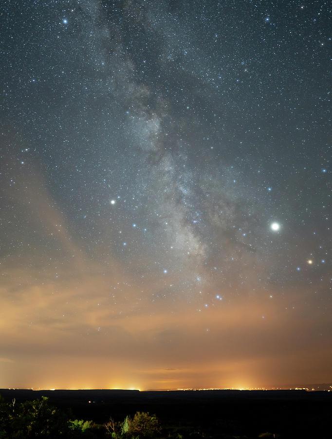 Night Sky over Mesa Verde by Kyle Lee