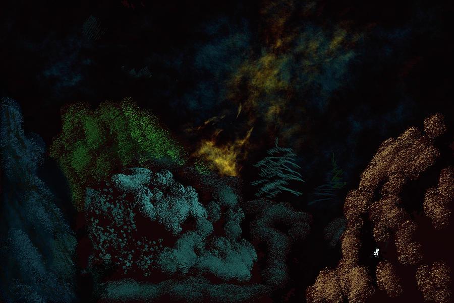 Night Walker #k7 Digital Art