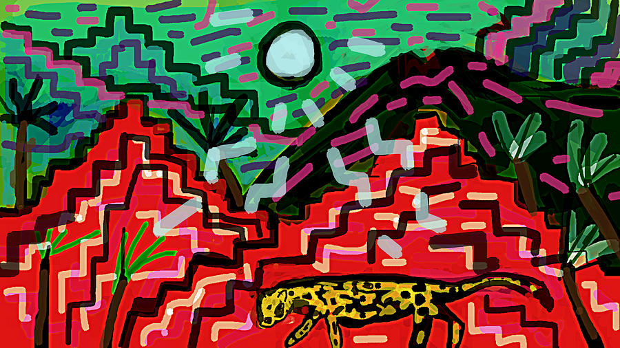 Night with jaguars  by Paul Sutcliffe